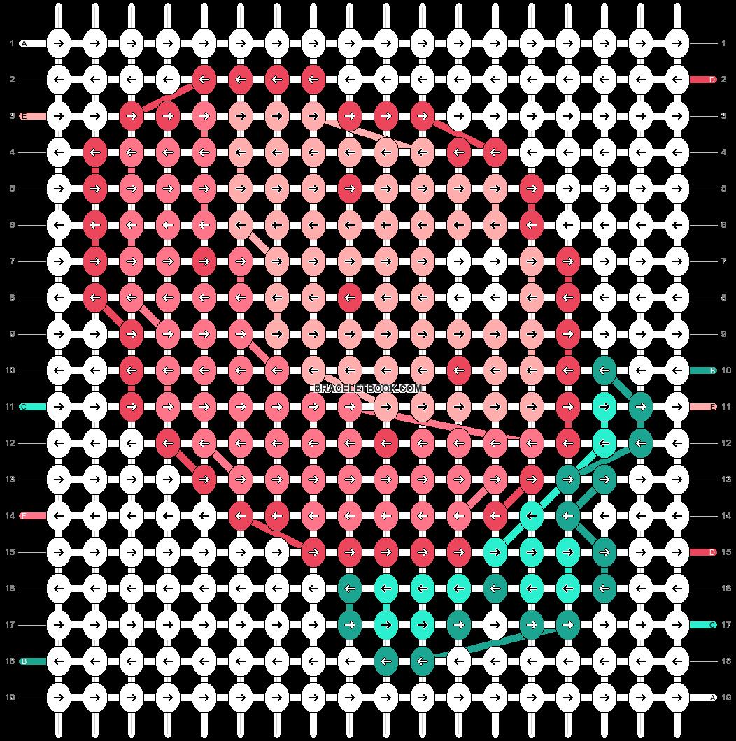 Alpha pattern #20288 pattern