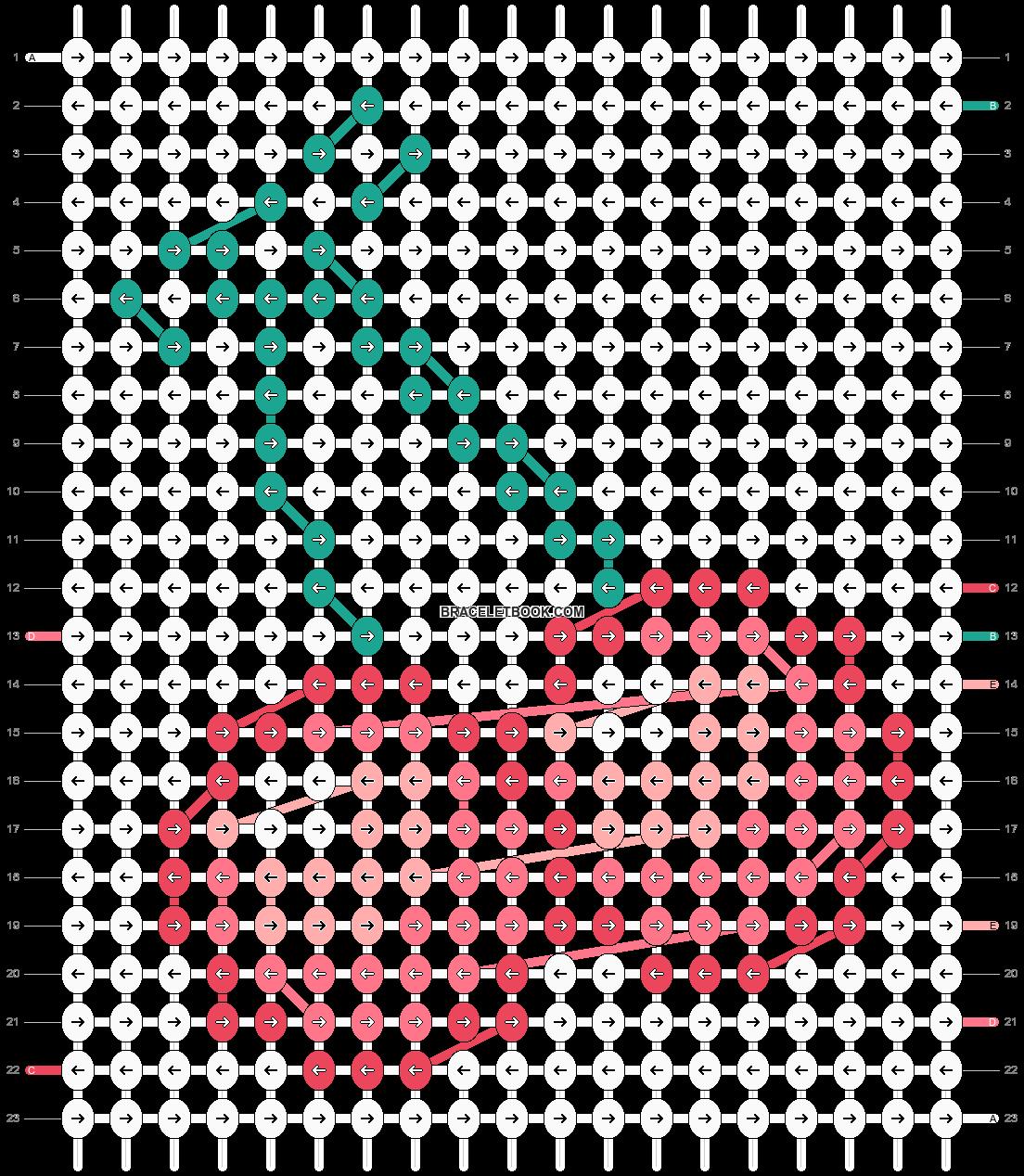 Alpha pattern #20289 pattern