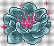 Alpha Friendship Bracelet Pattern #20299