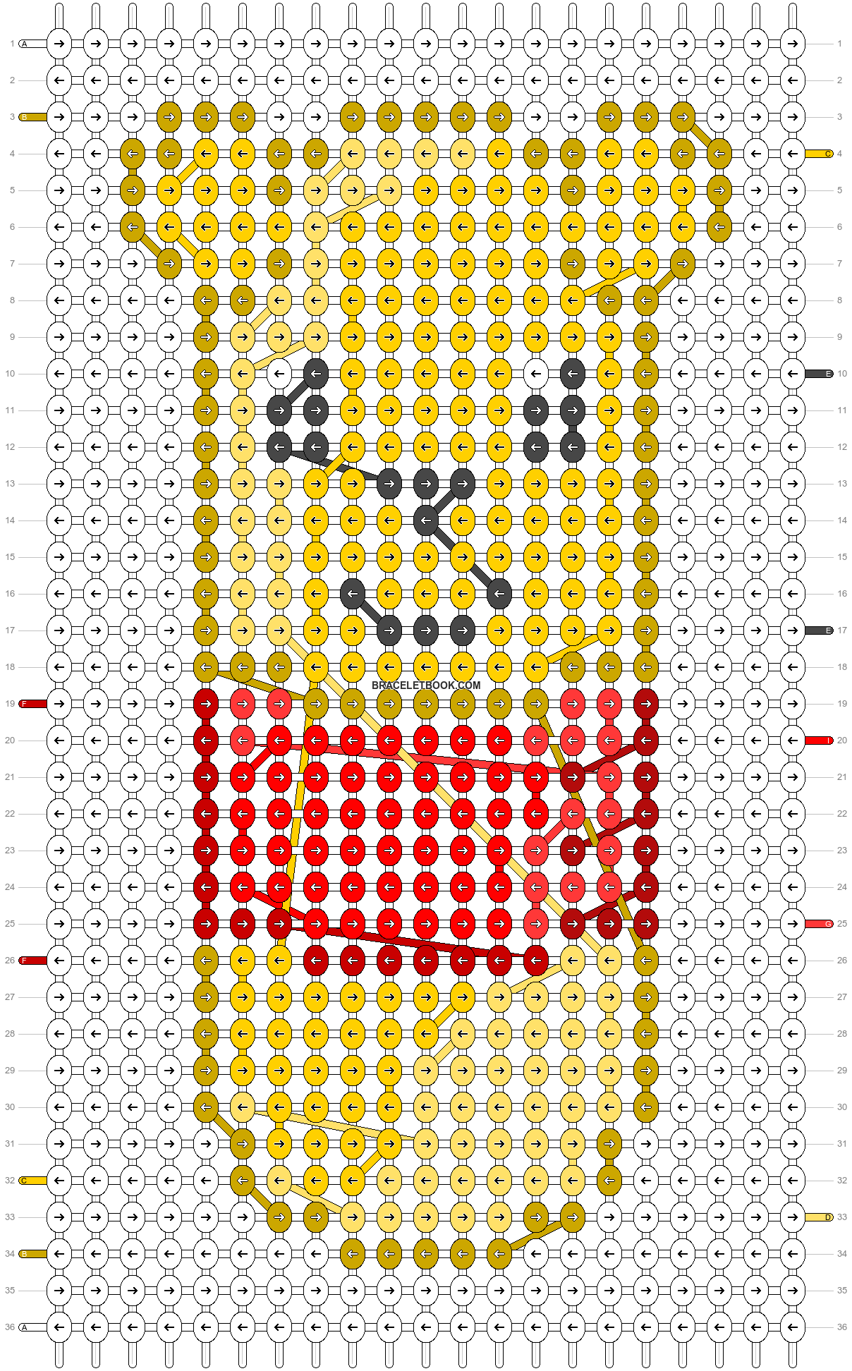 Alpha pattern #20302 pattern