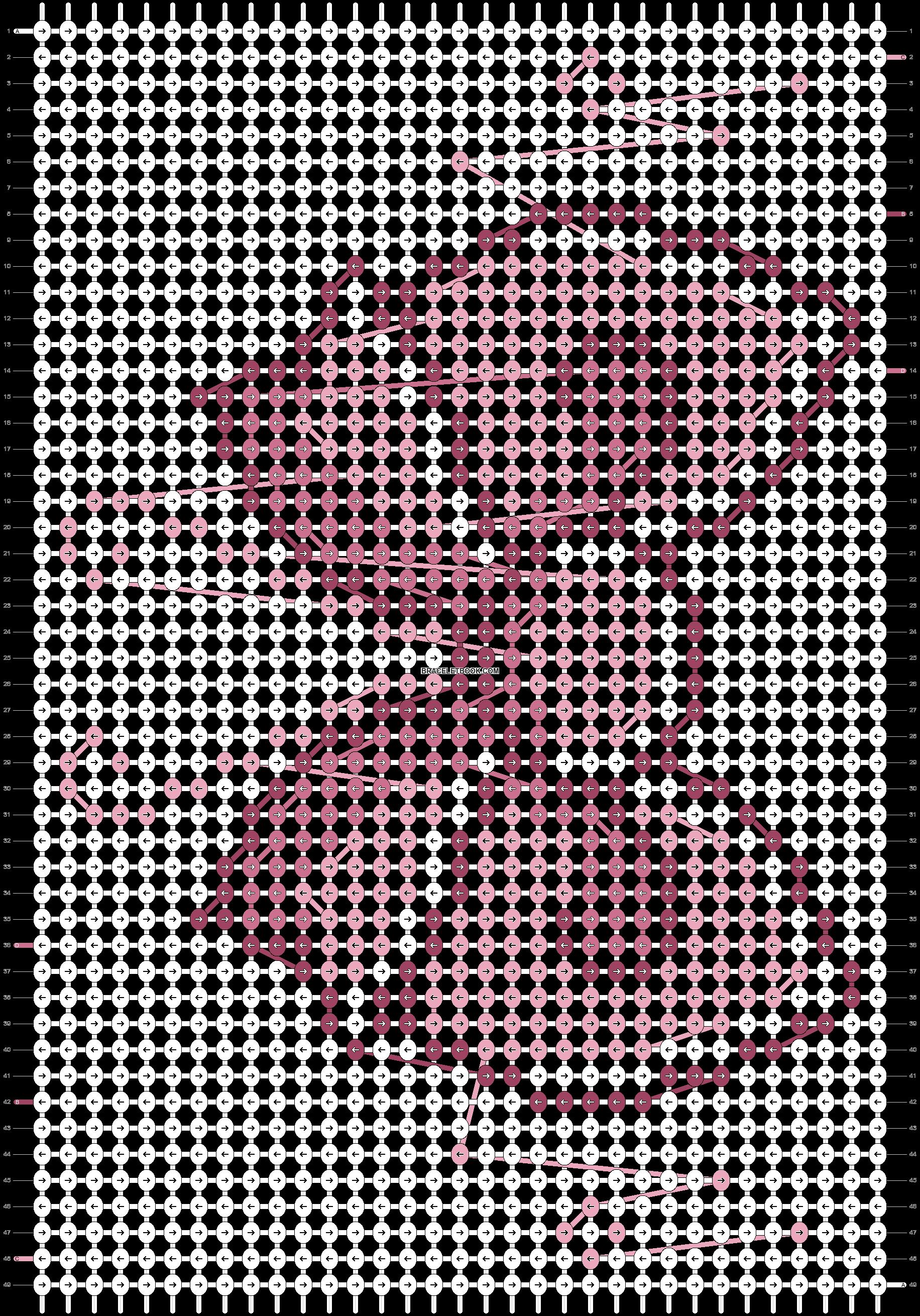 Alpha pattern #20303 pattern
