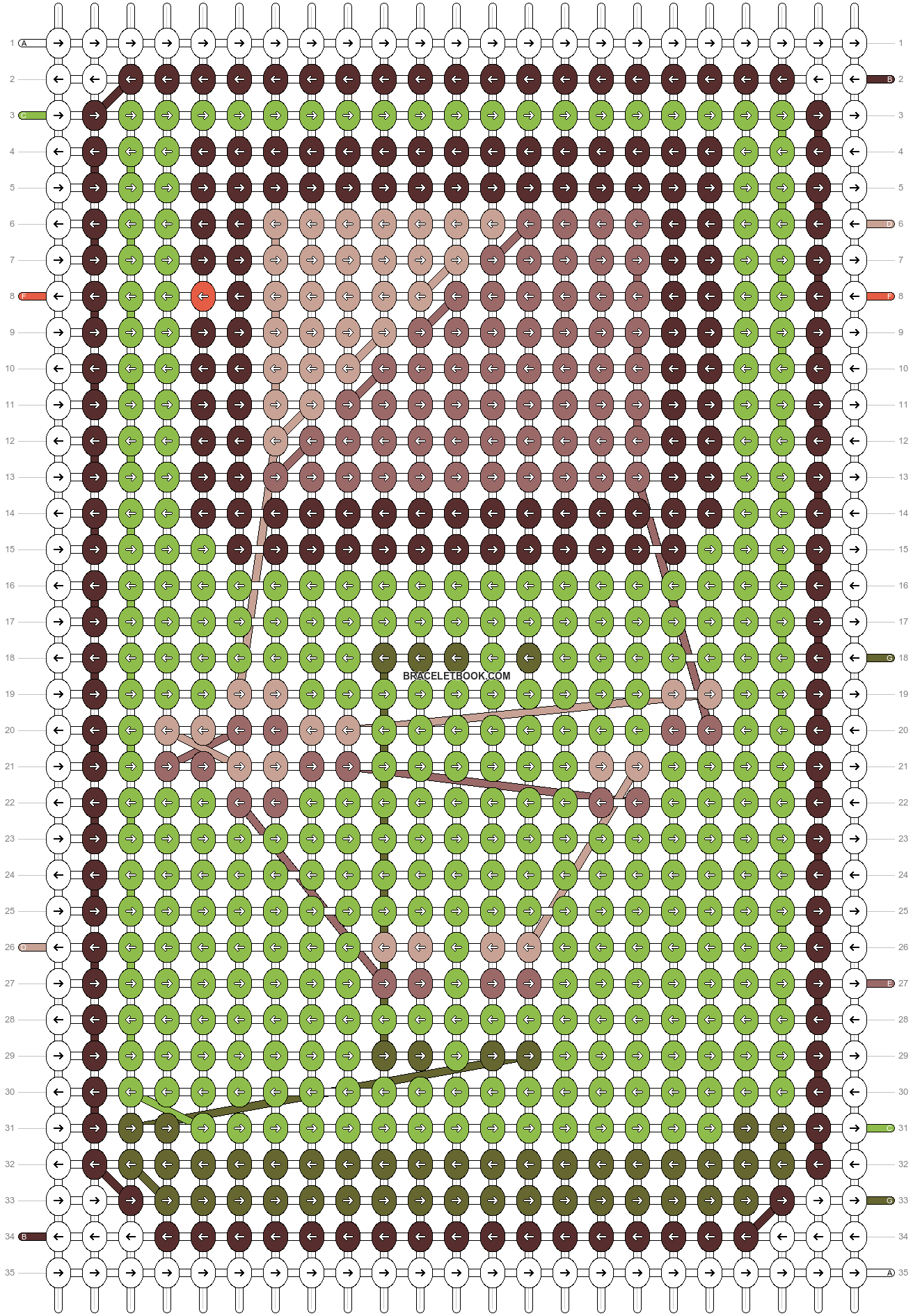 Alpha pattern #20308 pattern