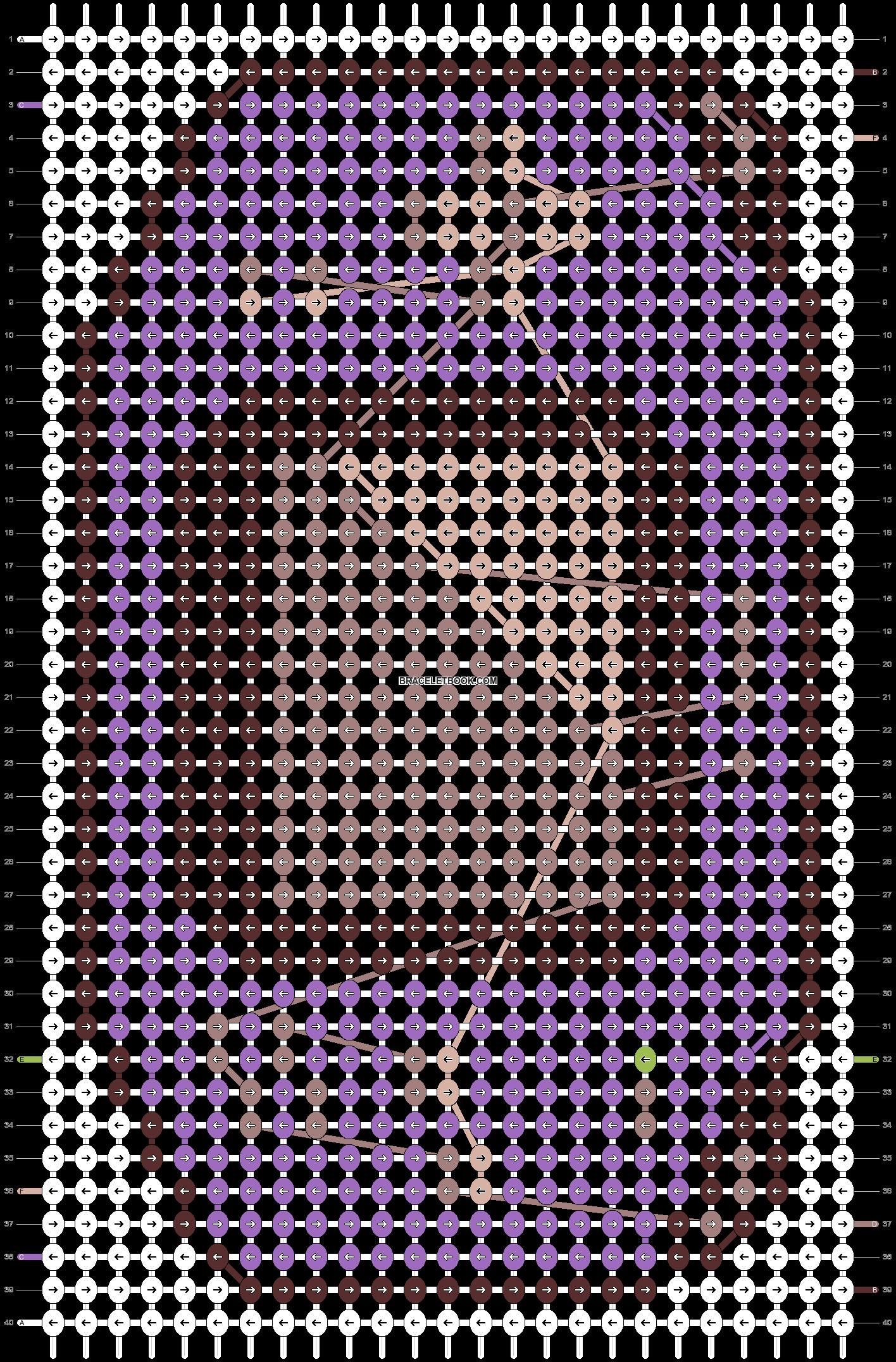 Alpha pattern #20309 pattern