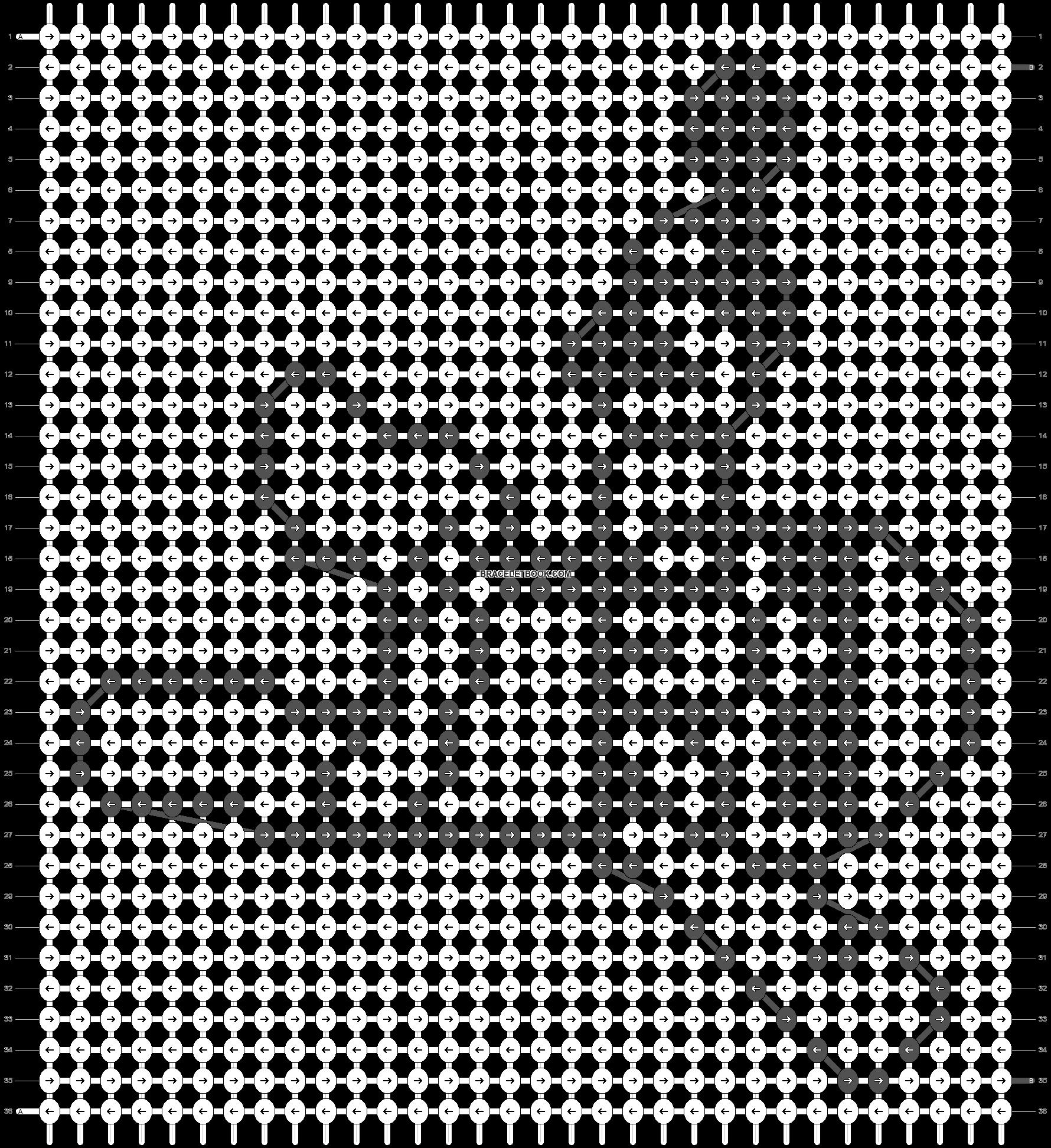 Alpha pattern #20310 pattern