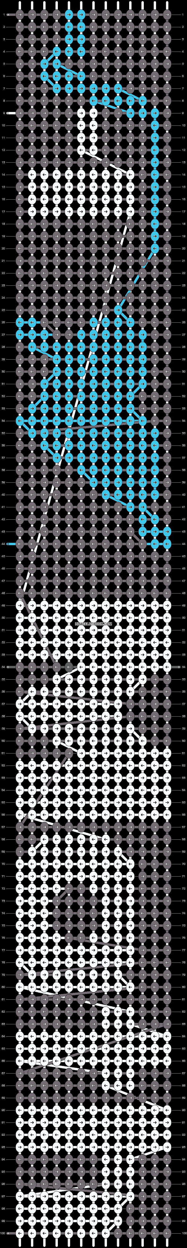 Alpha pattern #20314 pattern
