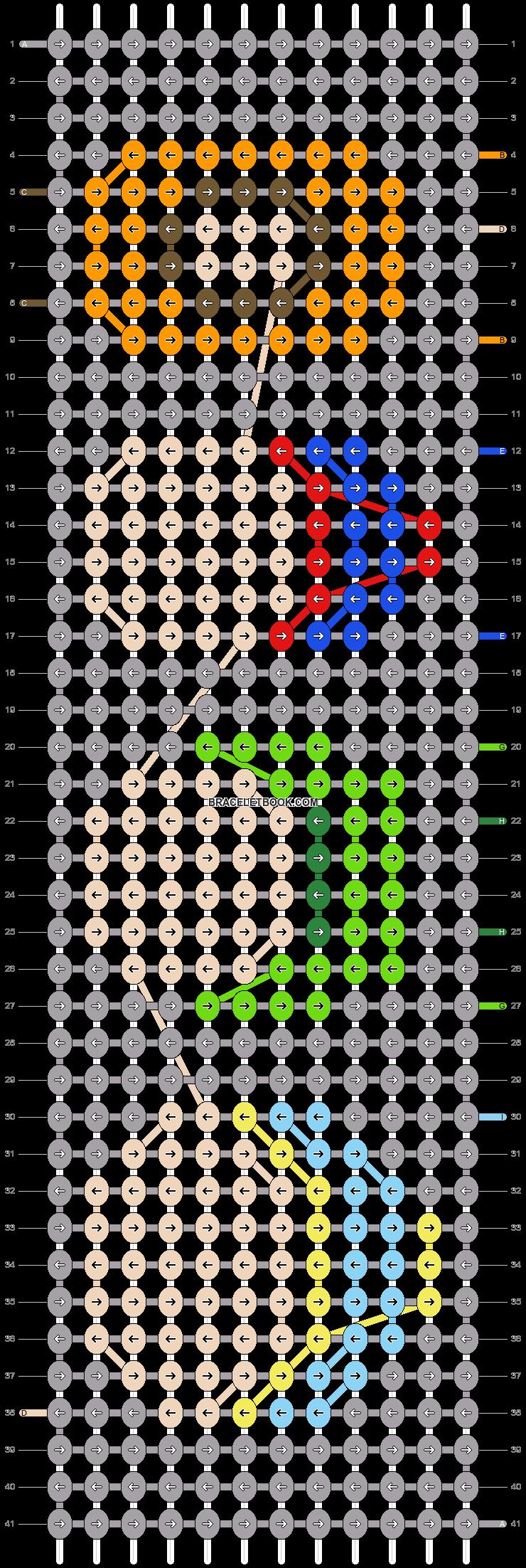 Alpha pattern #20317 pattern