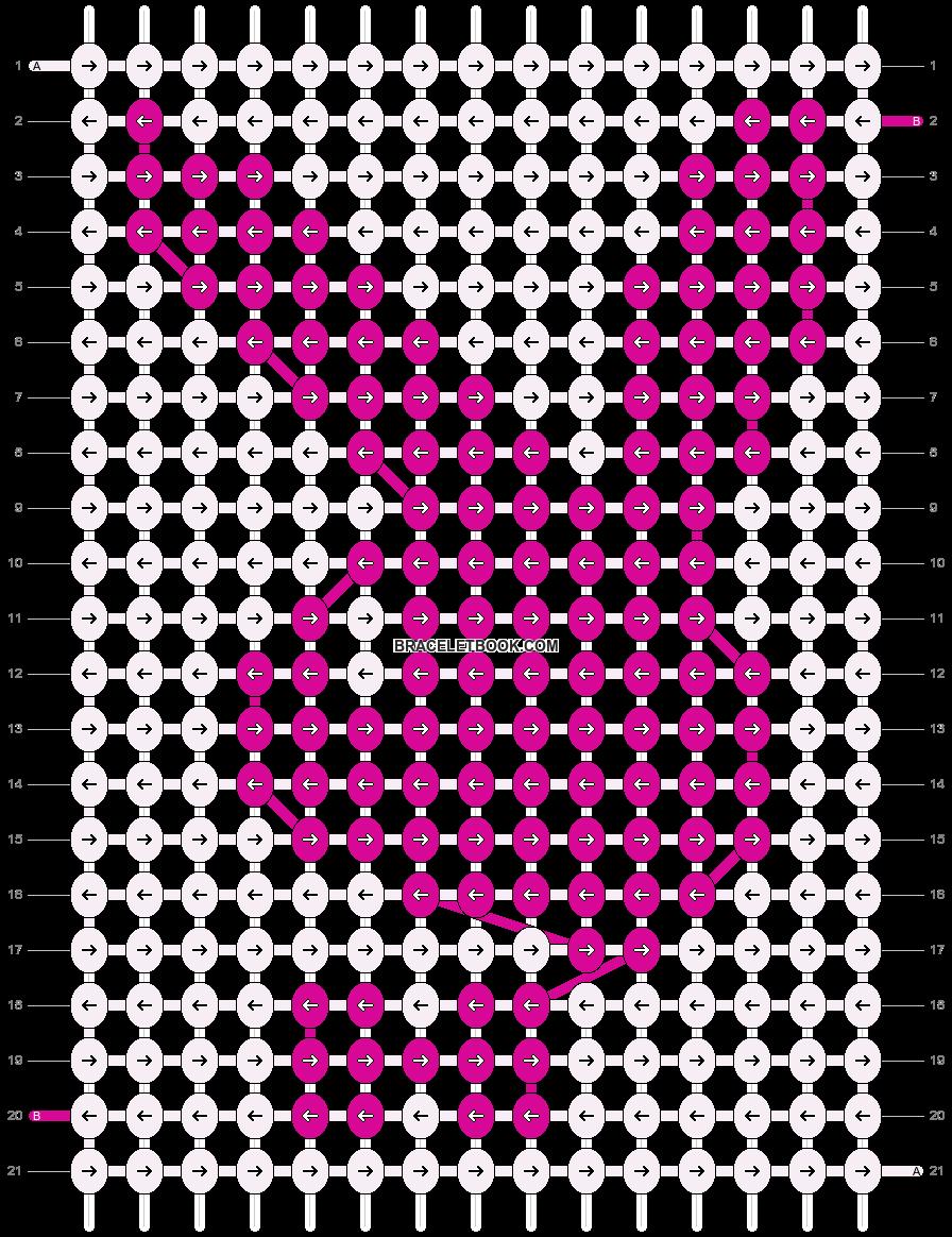 Alpha pattern #20318 pattern