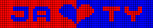 Alpha Friendship Bracelet Pattern #20323