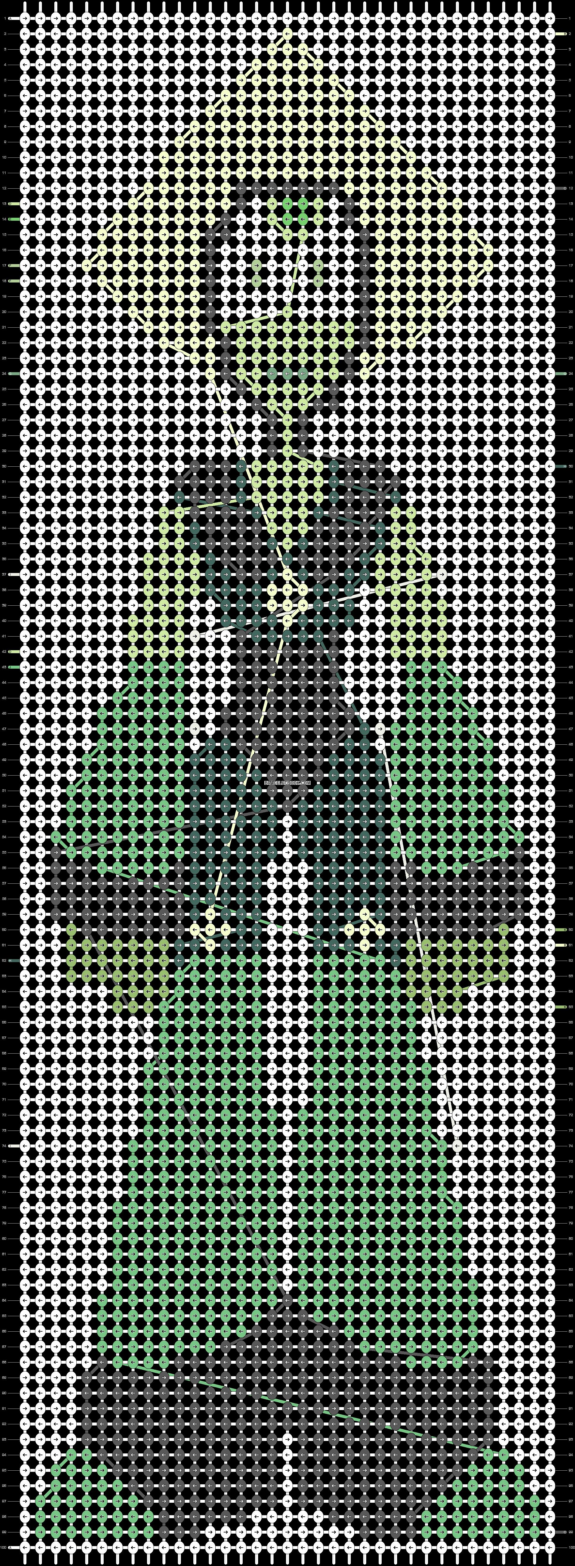 Alpha pattern #20336 pattern