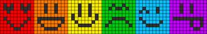 Alpha Friendship Bracelet Pattern #20338