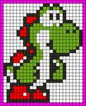 Alpha Friendship Bracelet Pattern #20342