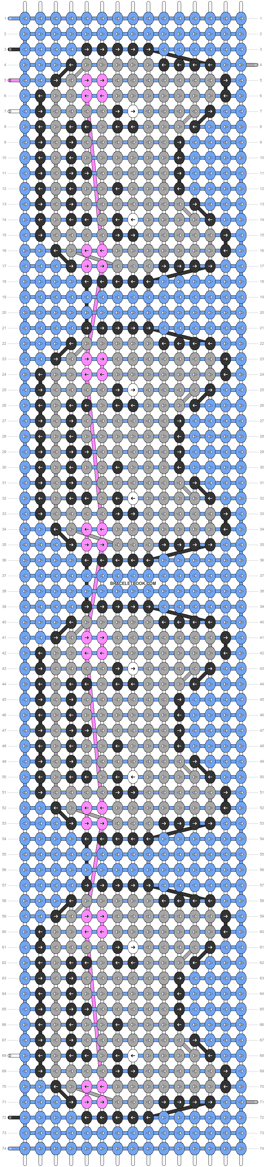 Alpha pattern #20348 pattern