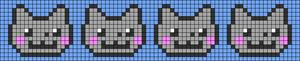 Alpha Friendship Bracelet Pattern #20348
