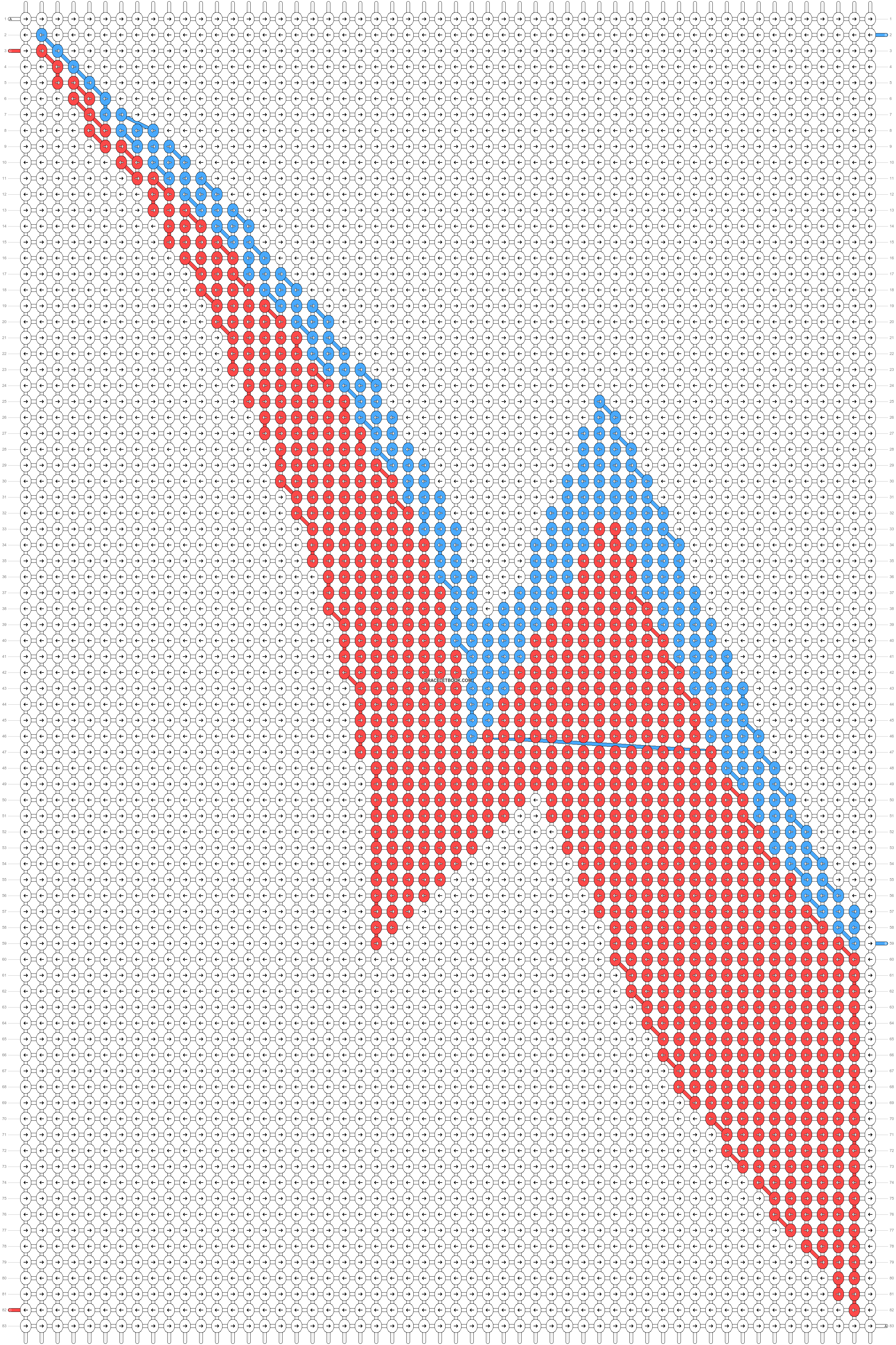 Alpha pattern #20350 pattern