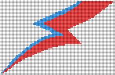 Alpha Friendship Bracelet Pattern #20350