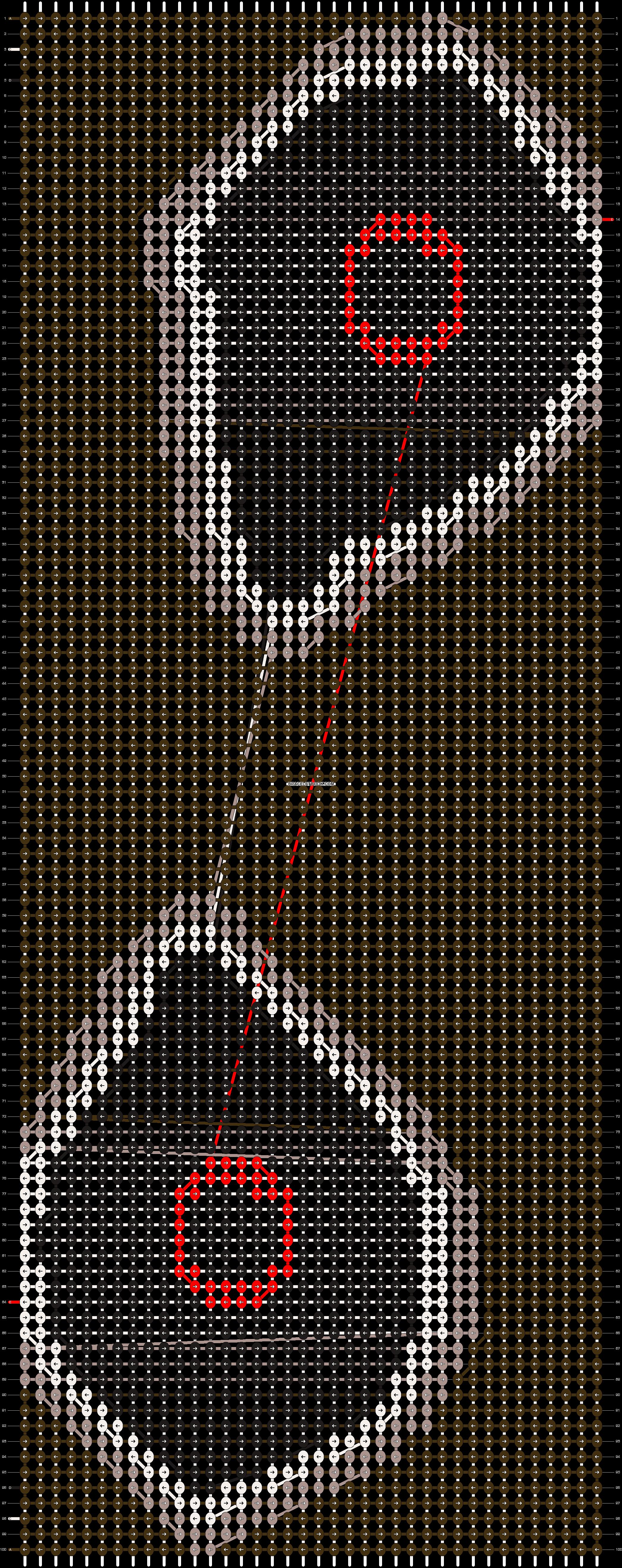 Alpha pattern #20351 pattern