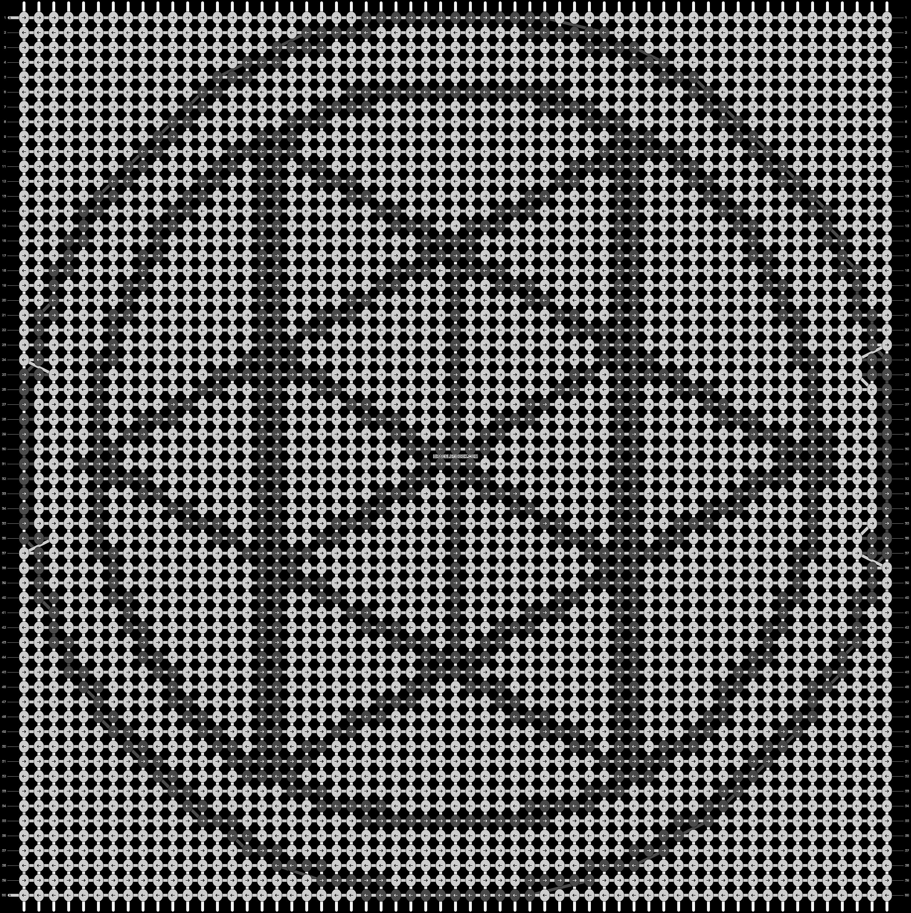 Alpha pattern #20354 pattern