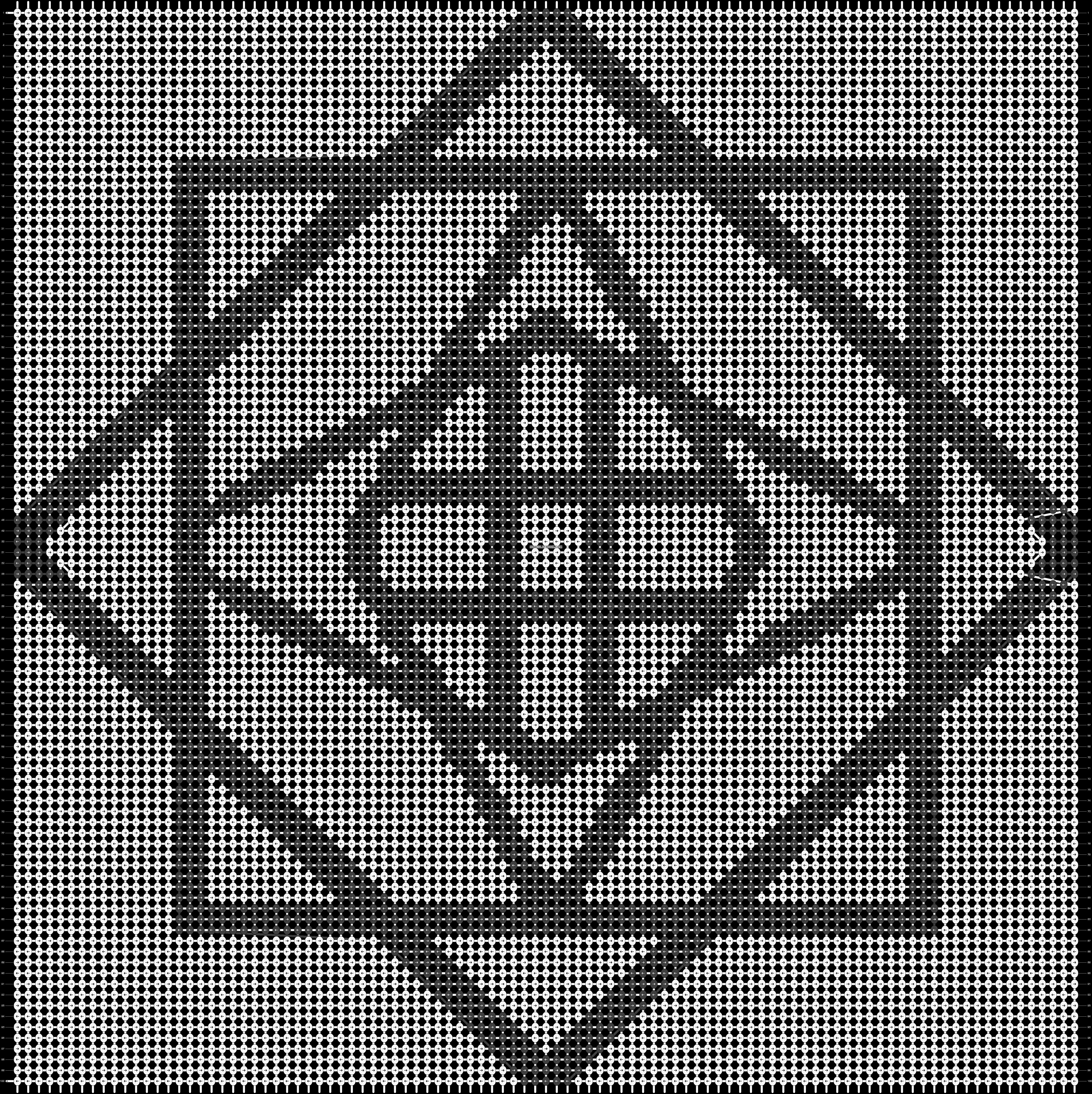 Alpha pattern #20355 pattern