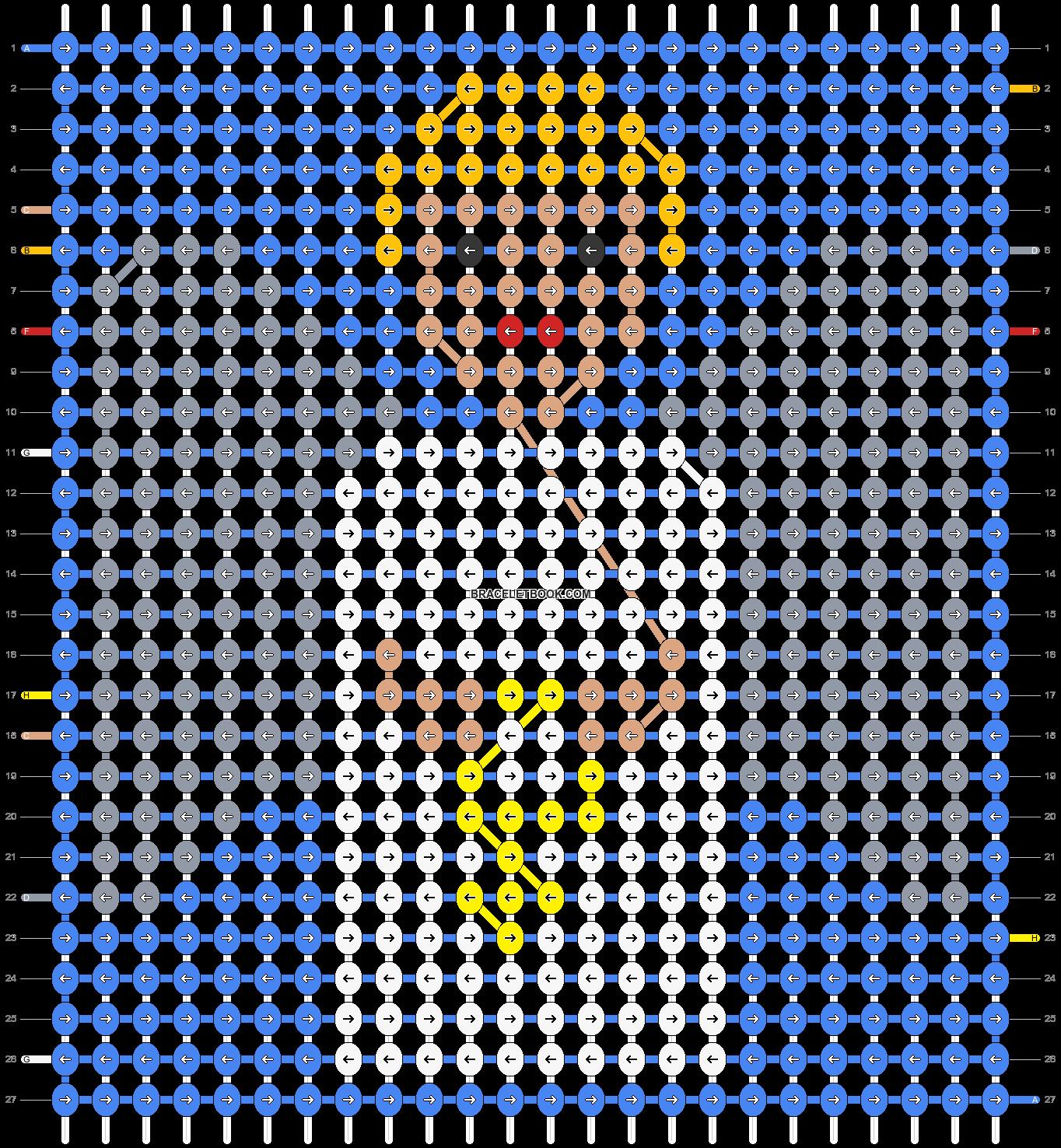Alpha pattern #20358 pattern