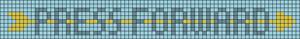 Alpha Friendship Bracelet Pattern #20359