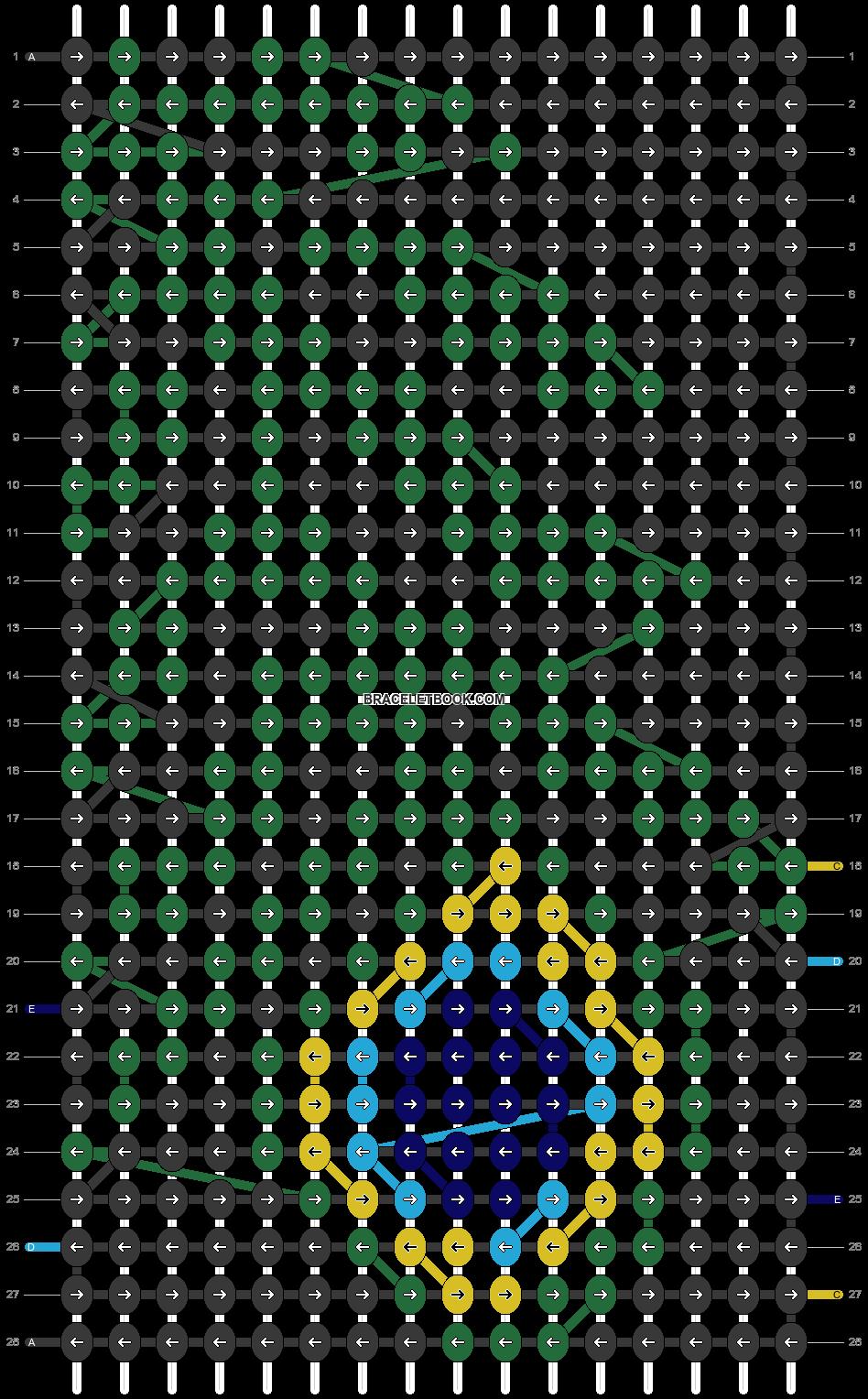 Alpha pattern #20369 pattern
