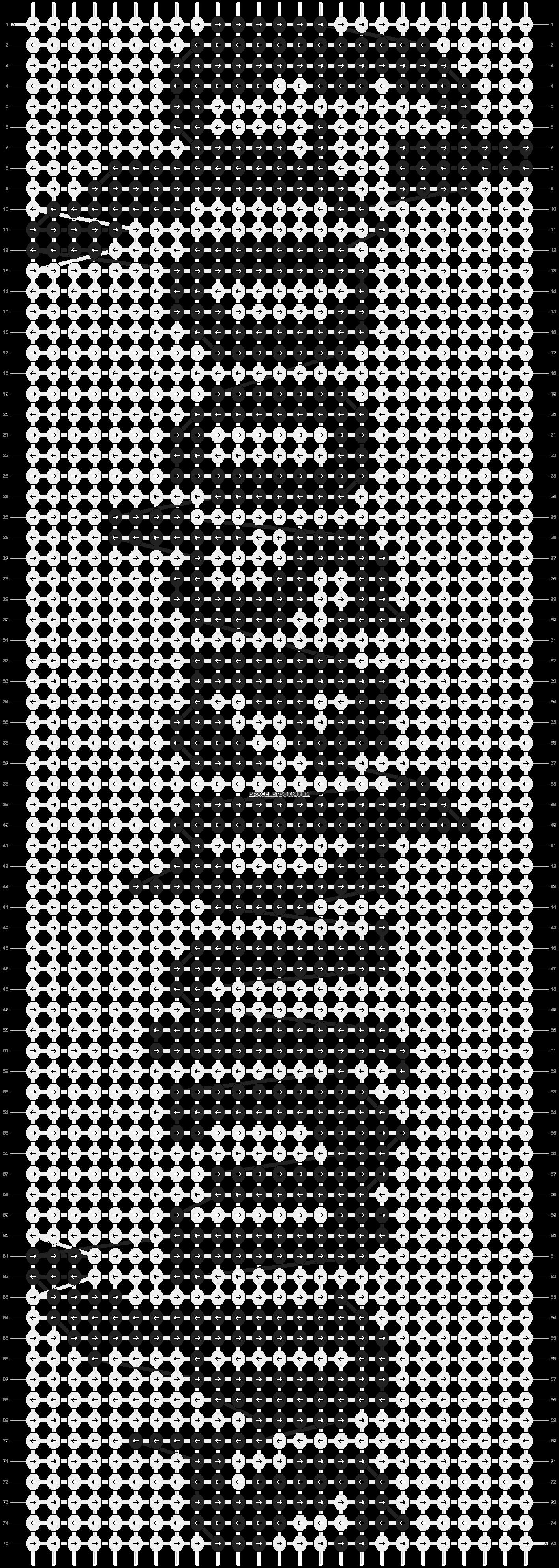 Alpha pattern #20370 pattern
