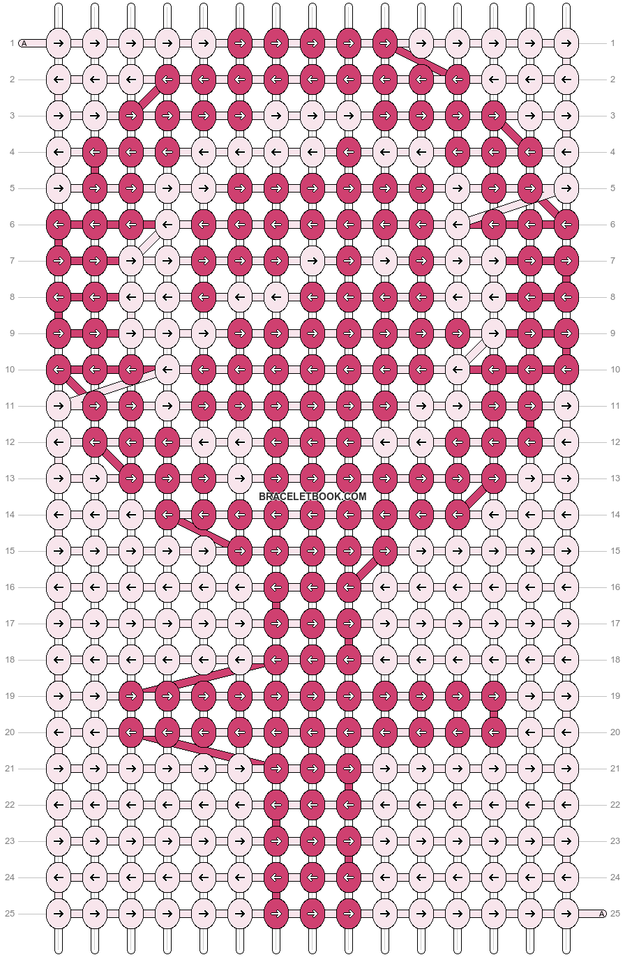 Alpha pattern #20378 pattern