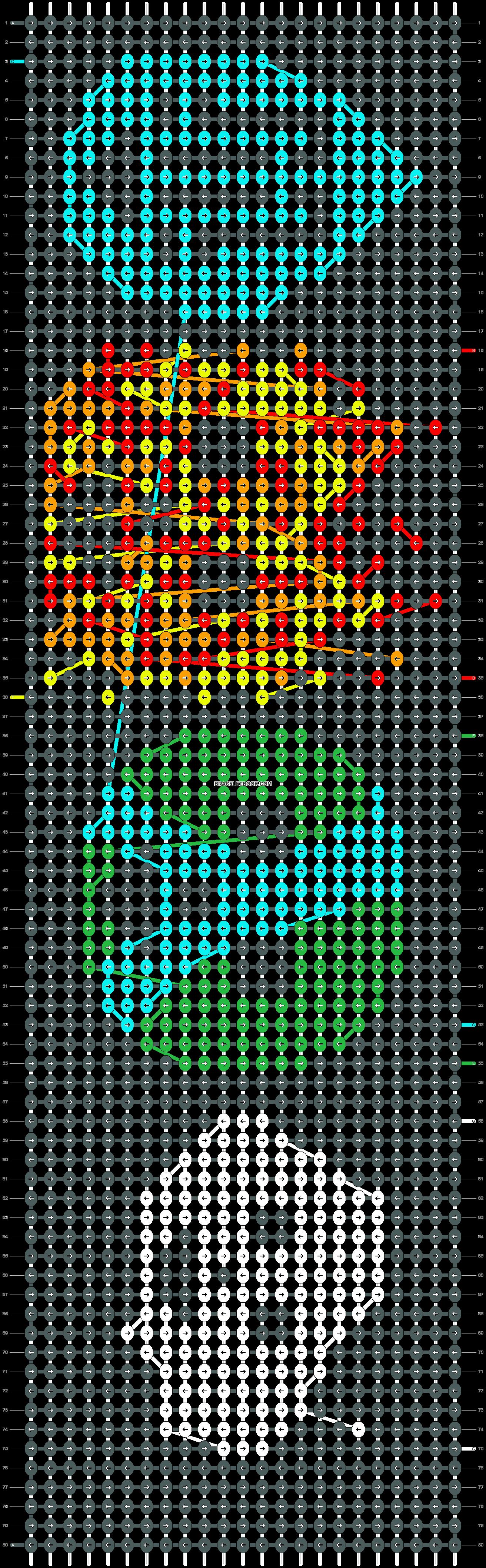 Alpha pattern #20384 pattern