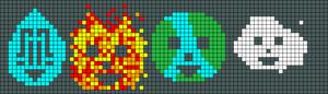 Alpha pattern #20384