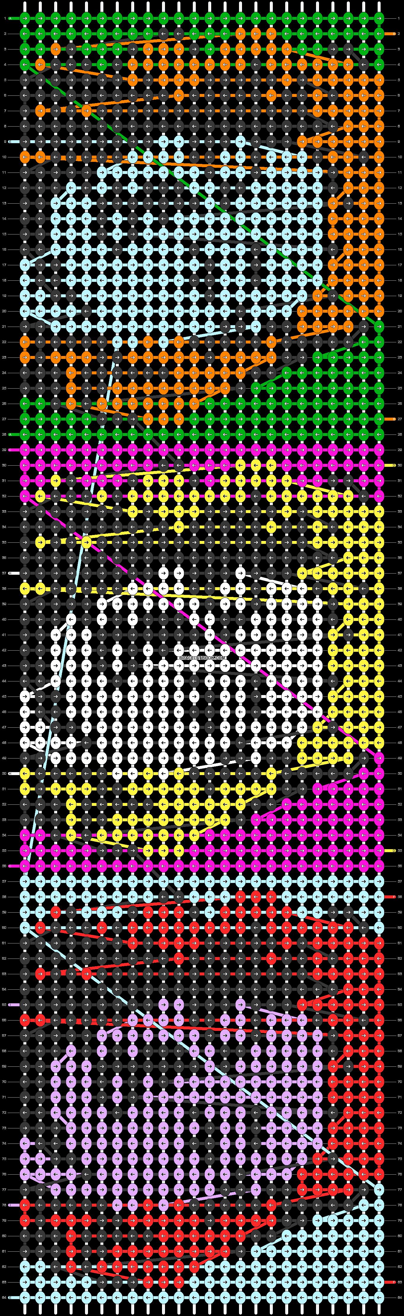 Alpha pattern #20386 pattern