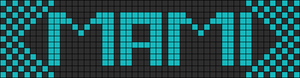 Alpha pattern #20393