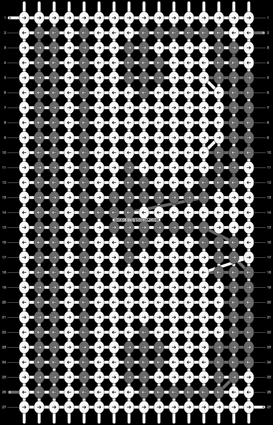 Alpha pattern #20395 pattern