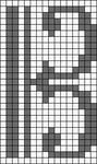 Alpha Friendship Bracelet Pattern #20395