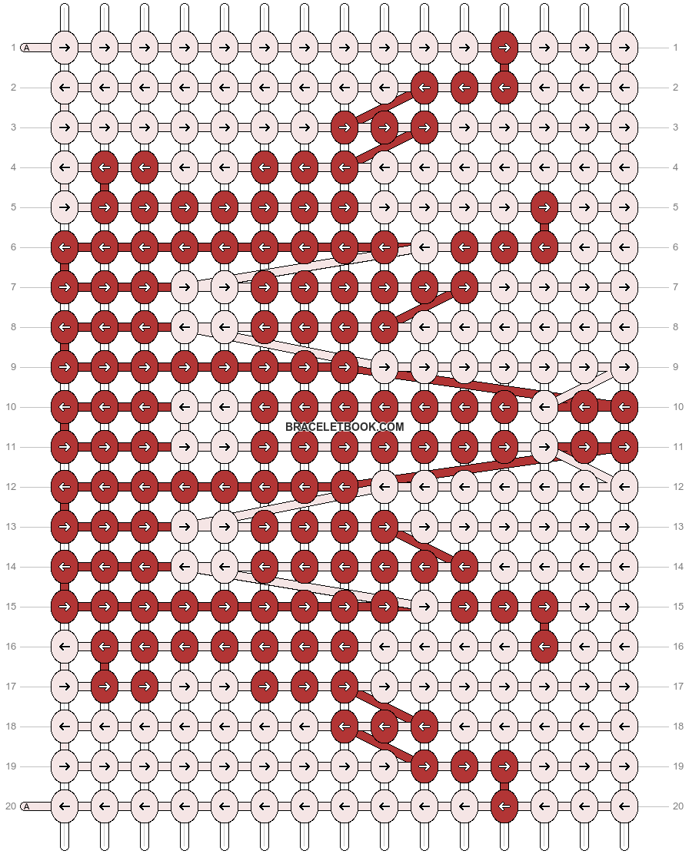 Alpha pattern #20398 pattern