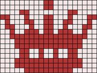Alpha Friendship Bracelet Pattern #20398