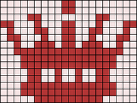 Alpha pattern #20398