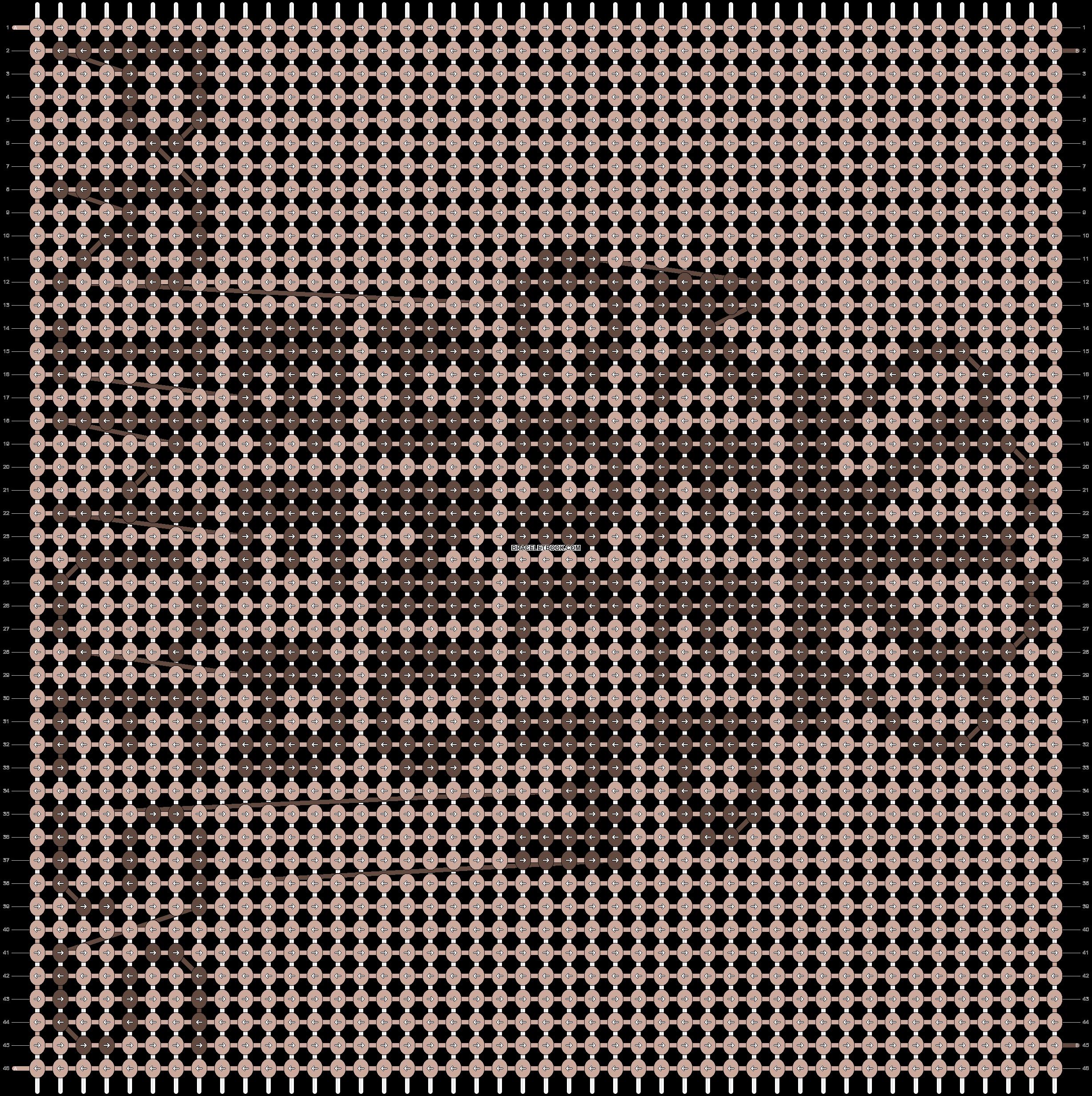 Alpha pattern #20399 pattern