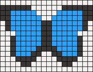 Alpha Friendship Bracelet Pattern #20401