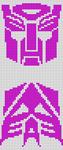 Alpha Friendship Bracelet Pattern #20406