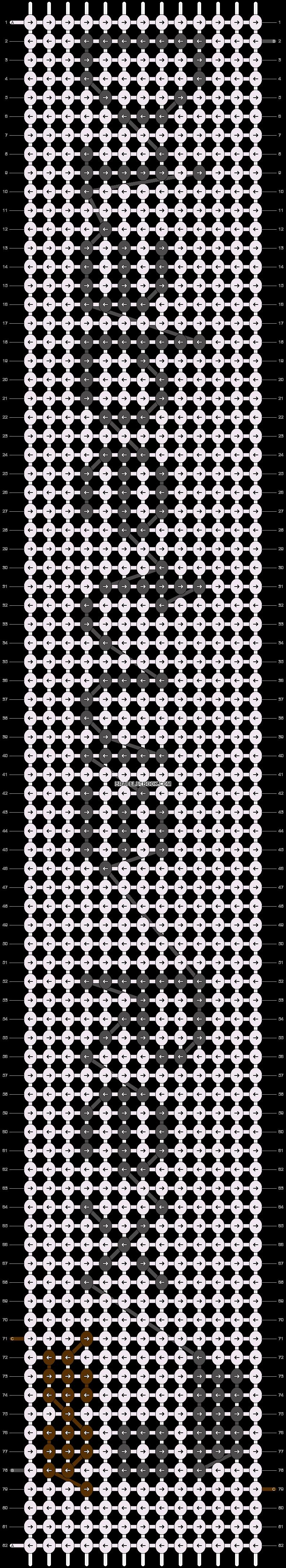 Alpha pattern #20407 pattern