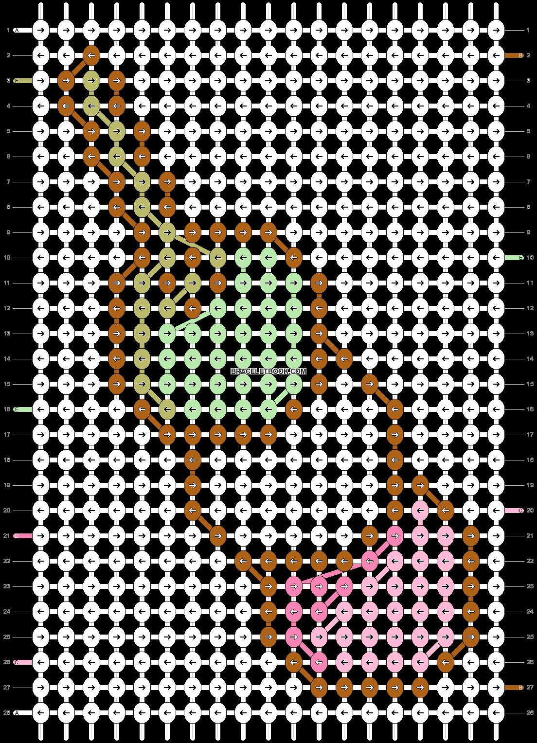 Alpha pattern #20410 pattern