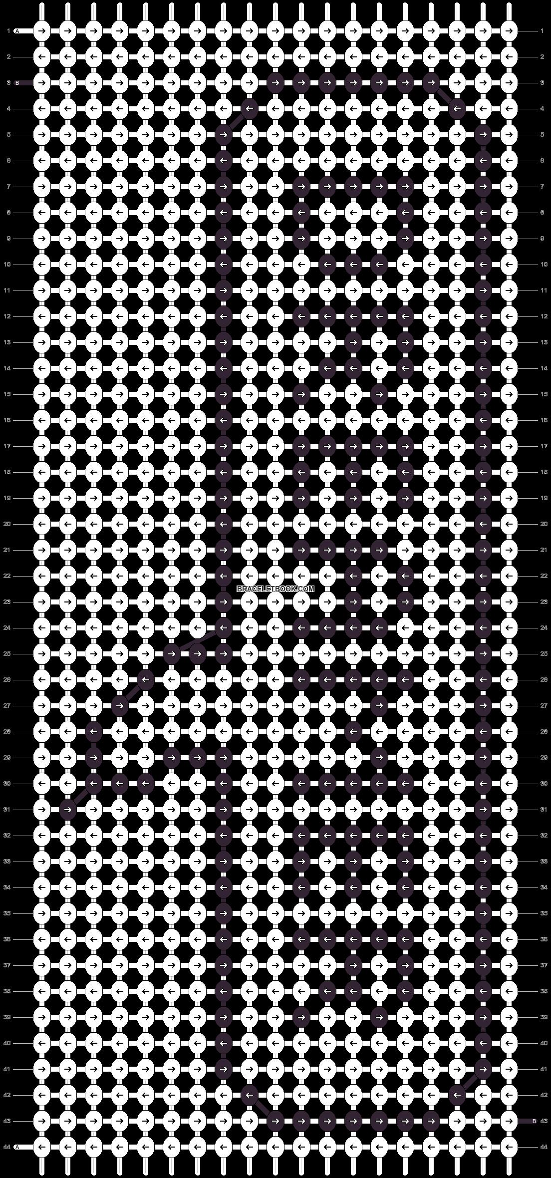 Alpha pattern #20411 pattern