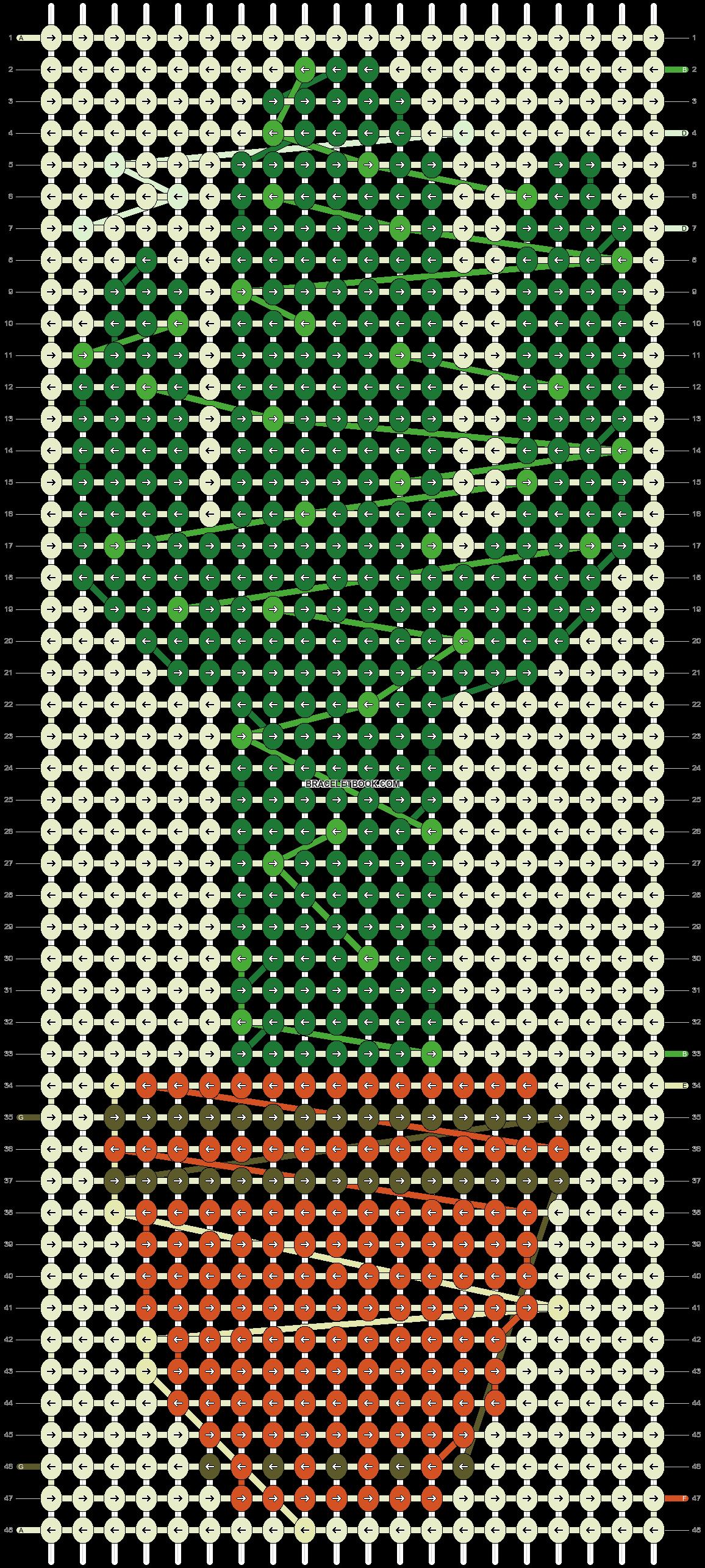Alpha pattern #20415 pattern