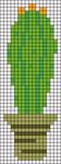 Alpha Friendship Bracelet Pattern #20416