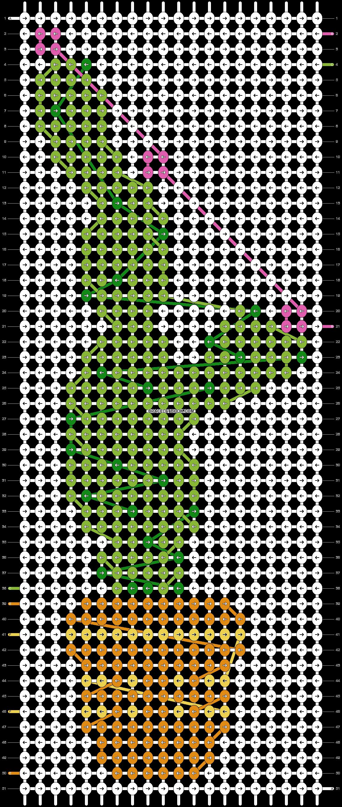 Alpha pattern #20417 pattern