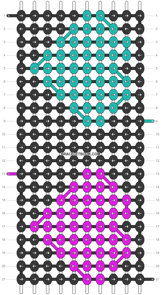 Alpha pattern #20421 pattern