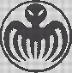 Alpha pattern #20423