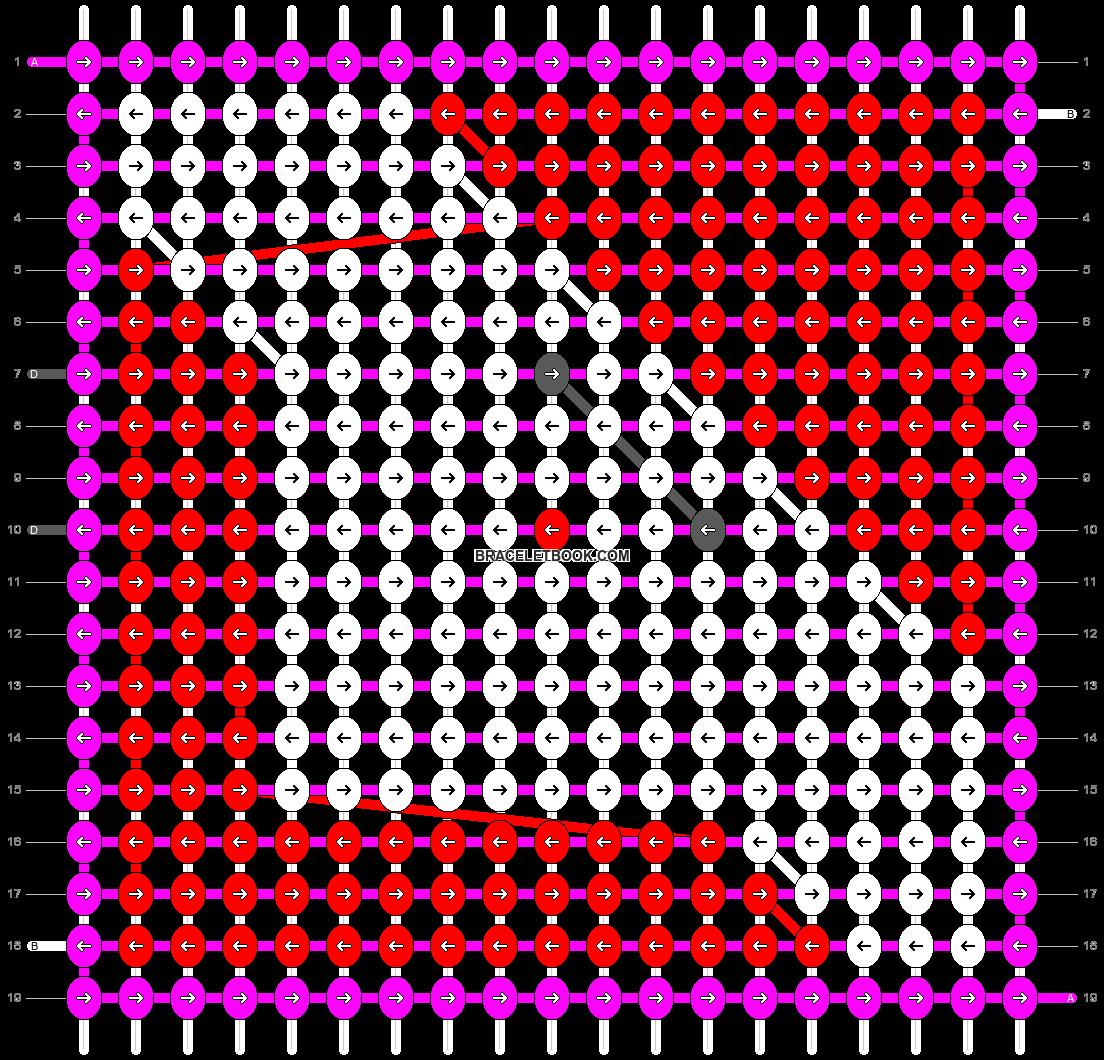Alpha pattern #20428 pattern