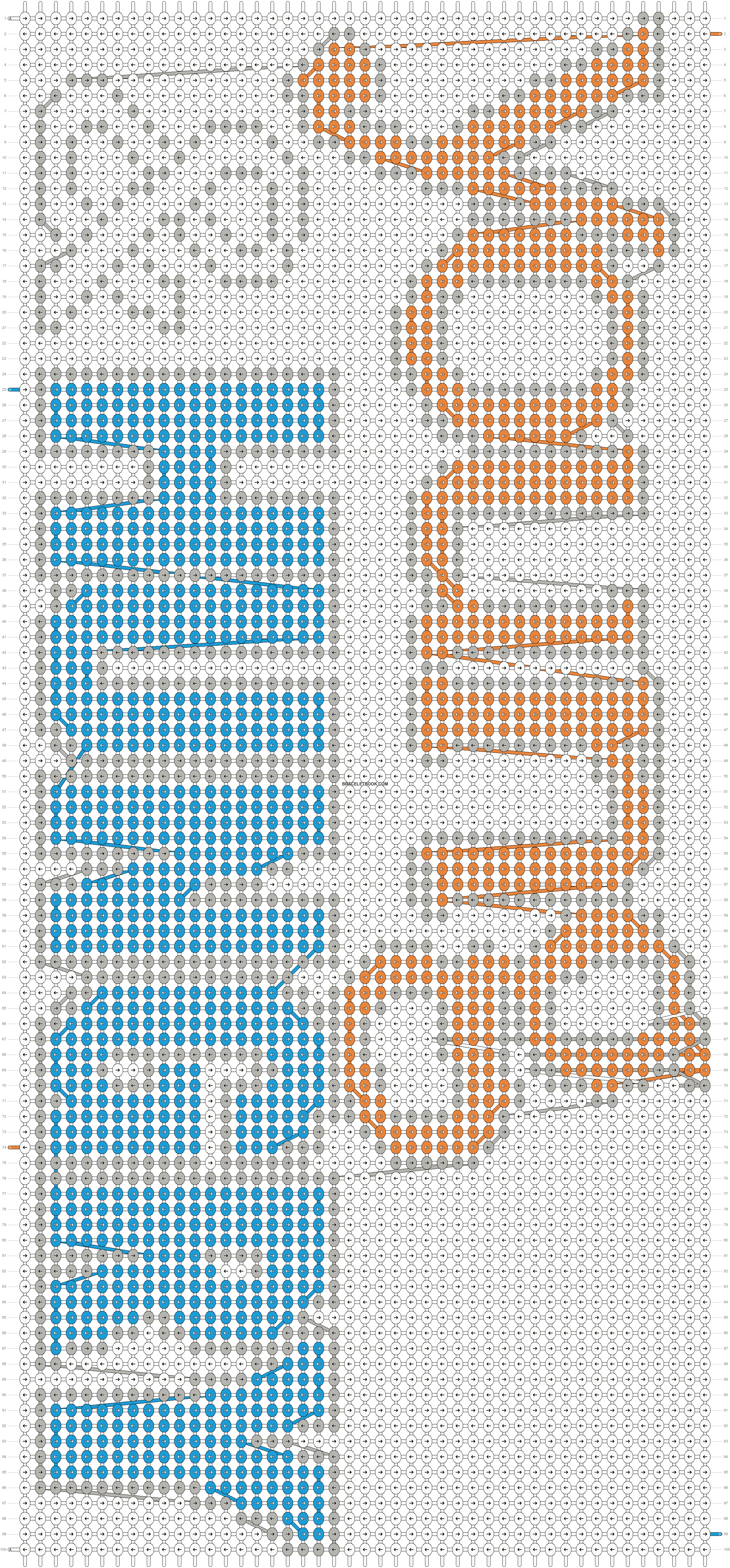 Alpha pattern #20432 pattern