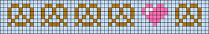 Alpha Friendship Bracelet Pattern #20435